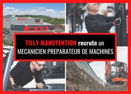 1 Mécanicien préparateur de machines (H/F)